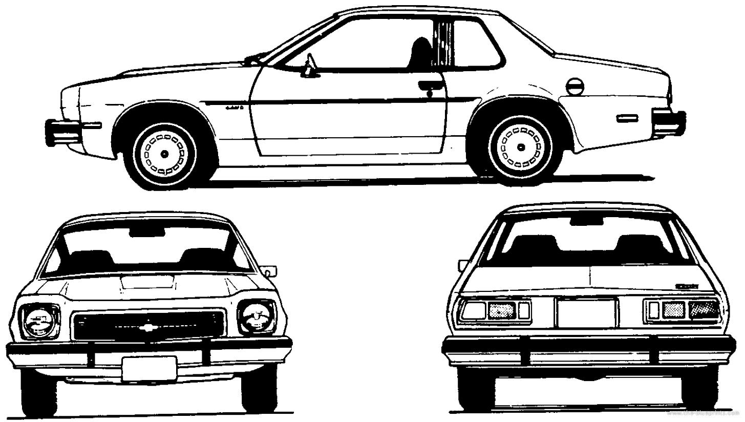 Chevrolet Monza Coupe 1 455 824 Pixels