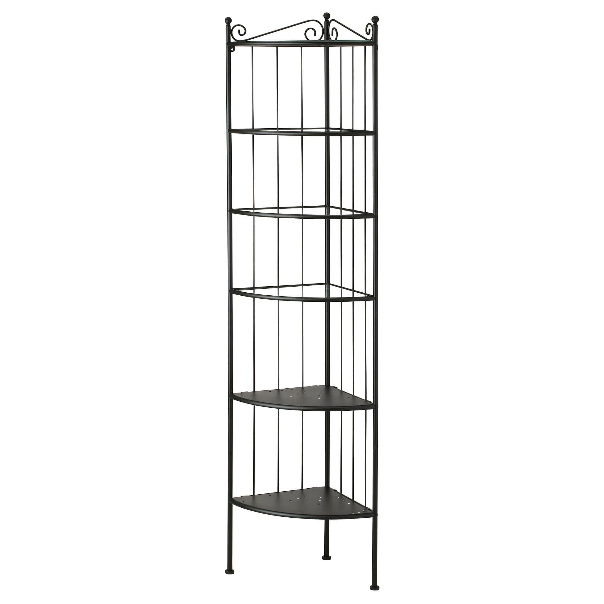 Ikea RÖnnskÄr Corner Shelf Unit Black