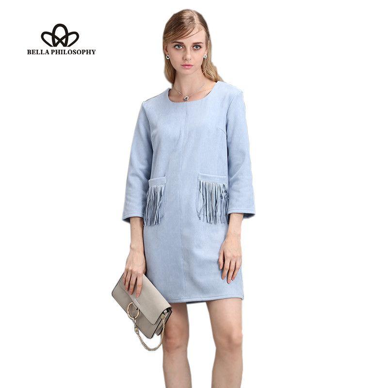 Платье из замши искусственной купить