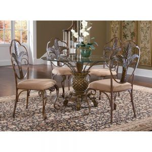 Round Dining Room Sets, Pineapple Dining Room Chairs