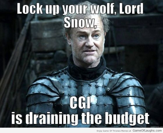 Lock up your wolf Jon Snow - Game Of Thrones Memes | Game ...