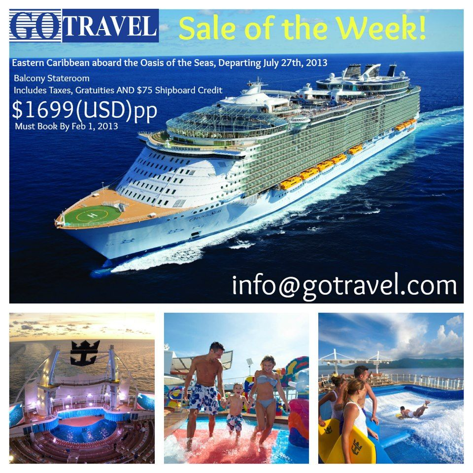 A Balcony Cabin Prepaid Gratuities AND Dollars To Spend While - Oasis of the seas cruise ship prices