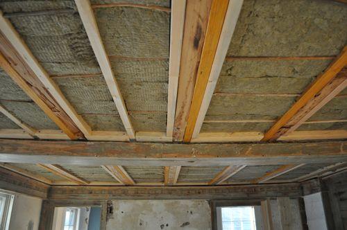 Installing Soundproof Insulation In Ceiling Basement Ceiling Ideas Cheap Sound Proofing Soundproofing Insulation
