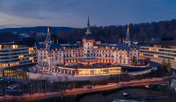 The Dolder Grand Hotel, Zurich | City resort, Aerial photography drone,  Grand hotel