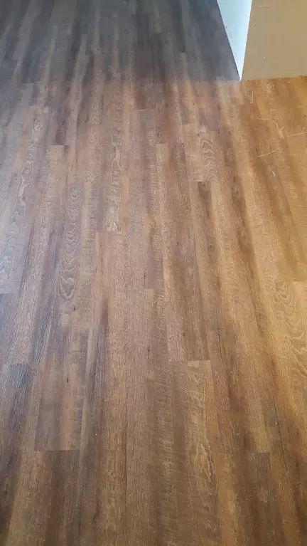 Sawmill Oak, a CoreLuxe waterproof EVP floor, in a OH ...