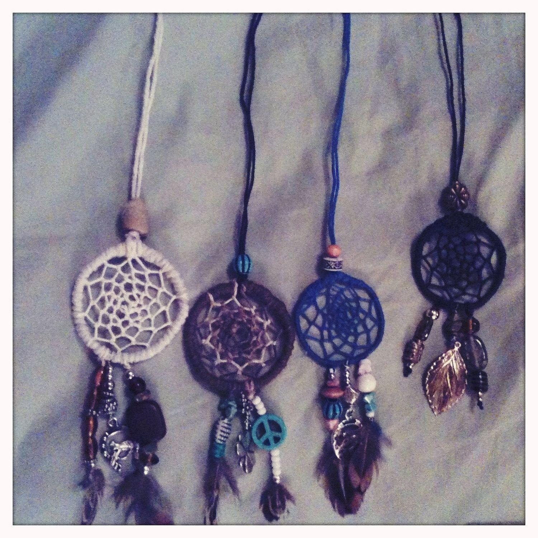 How To Make Dream Catcher Necklace Dream Catcher Necklaces Accessorize Pinterest Dream catcher 5