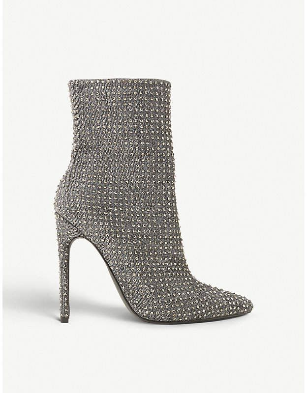 44468cd177d Steve Madden Wifey rhinestone-embellished ankle boots
