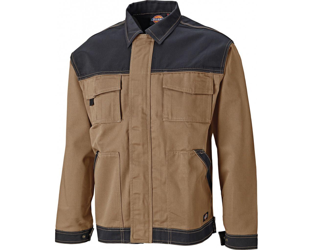 Industry300 Two Tone Work Jacket -  Khaki