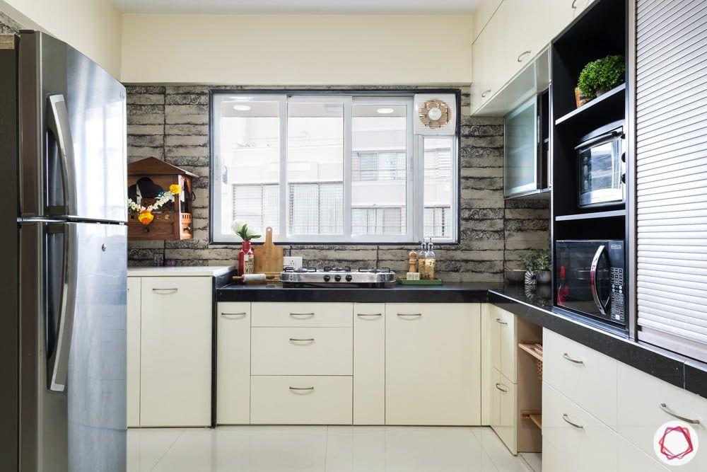 Clutter Free Kitchen High On Storage Kitchen Design Home