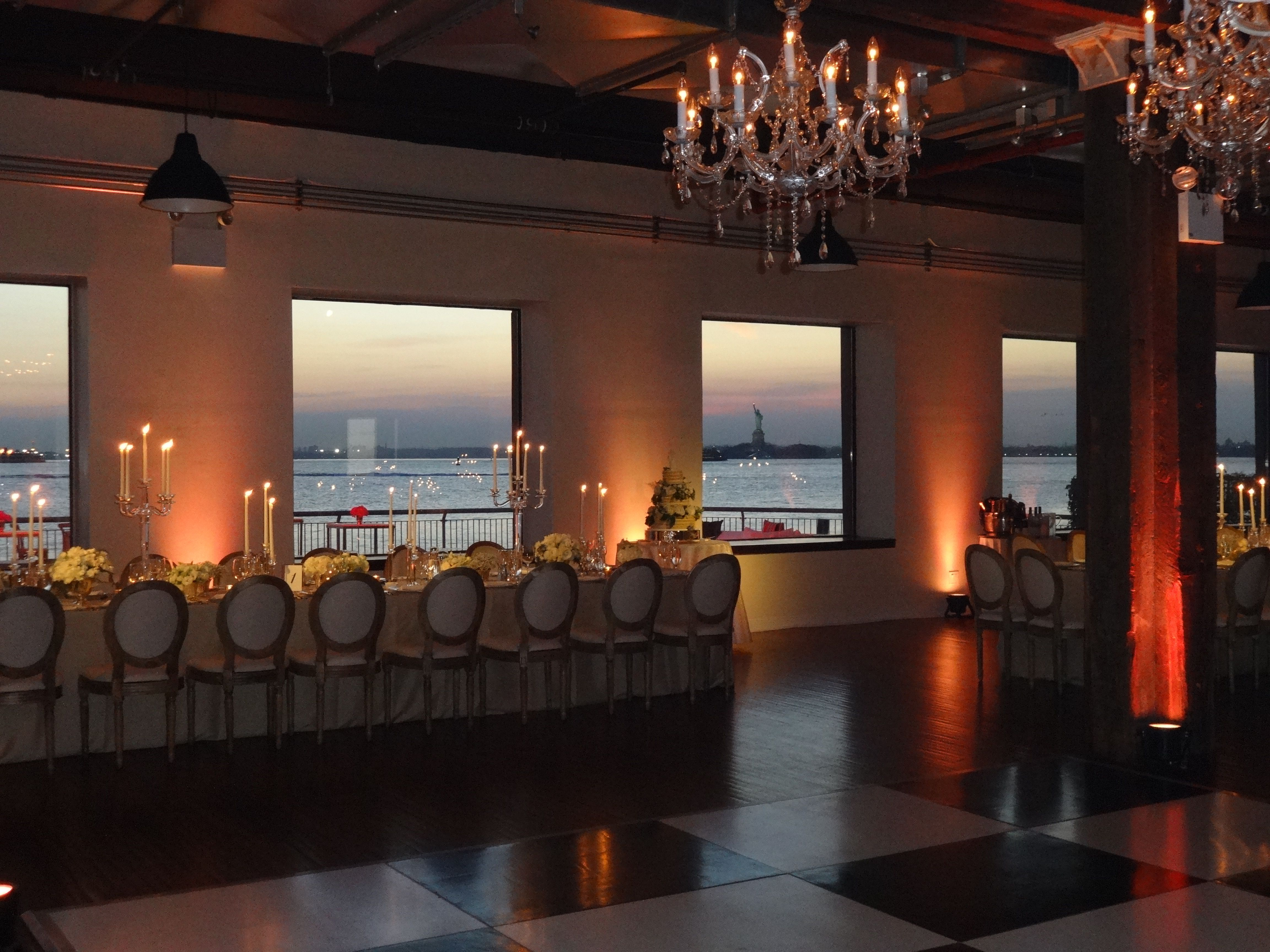 The Liberty Warehouse Clic Look Ed Chairs Dance Floor Chandeliers By Pegasus
