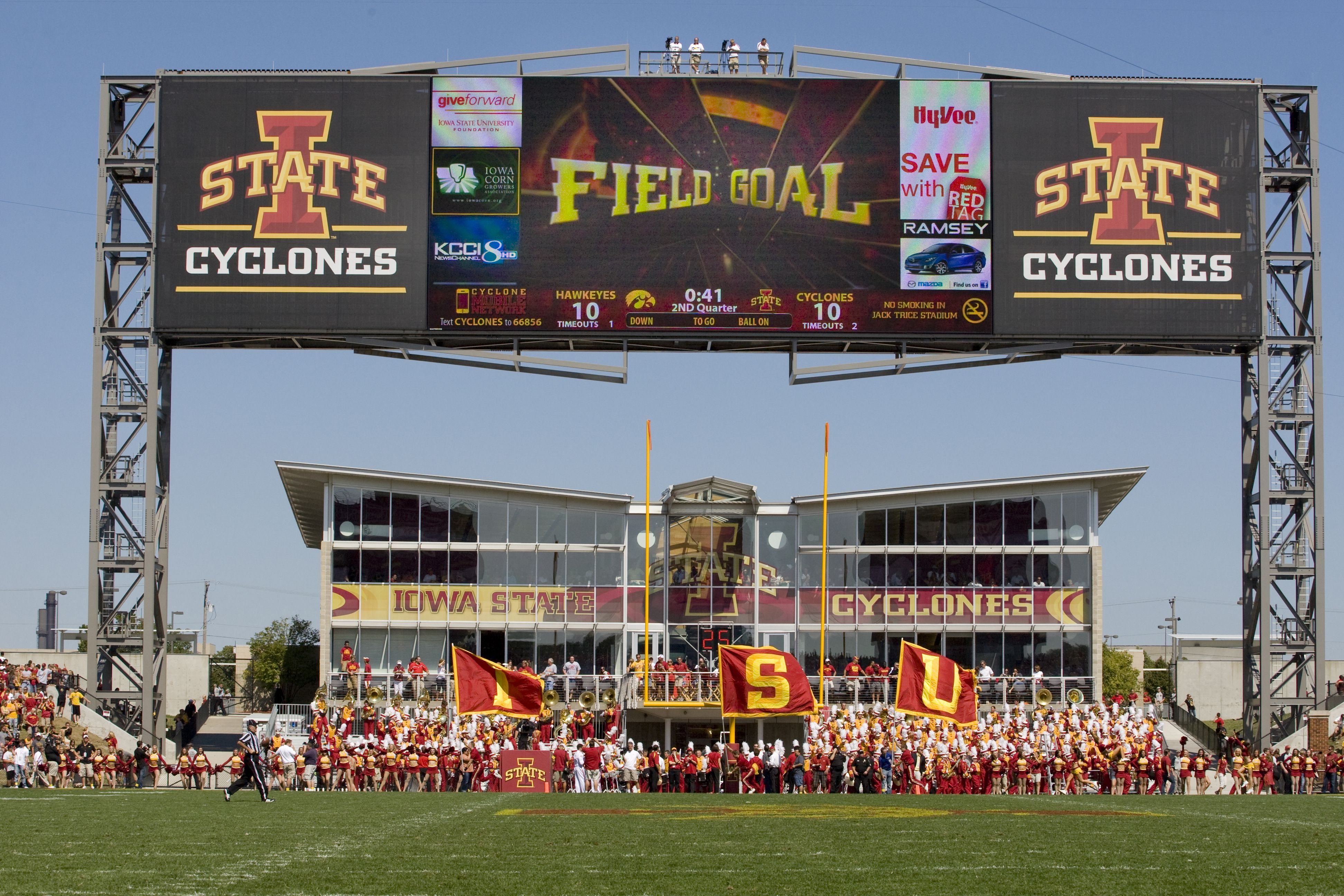 We Are Excited To See Some Cyclone Field Goals Iowa State