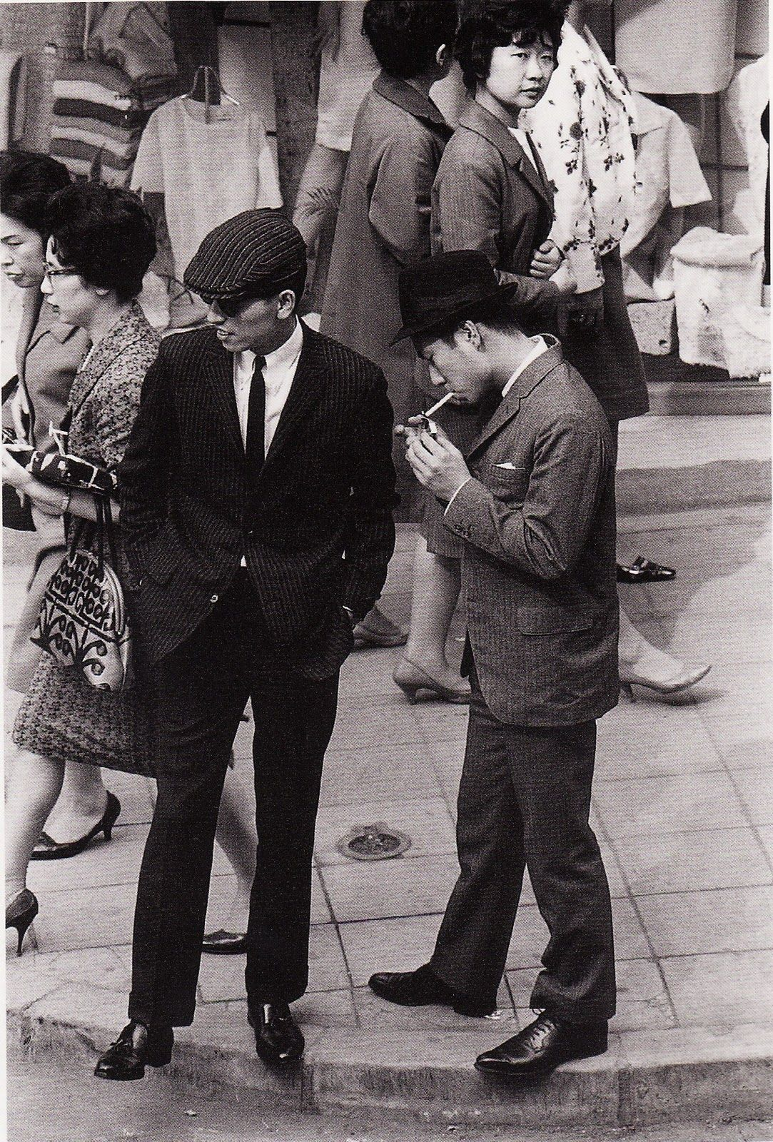 T H I N G S: japan: a self portrait/ Ginza, 1962.