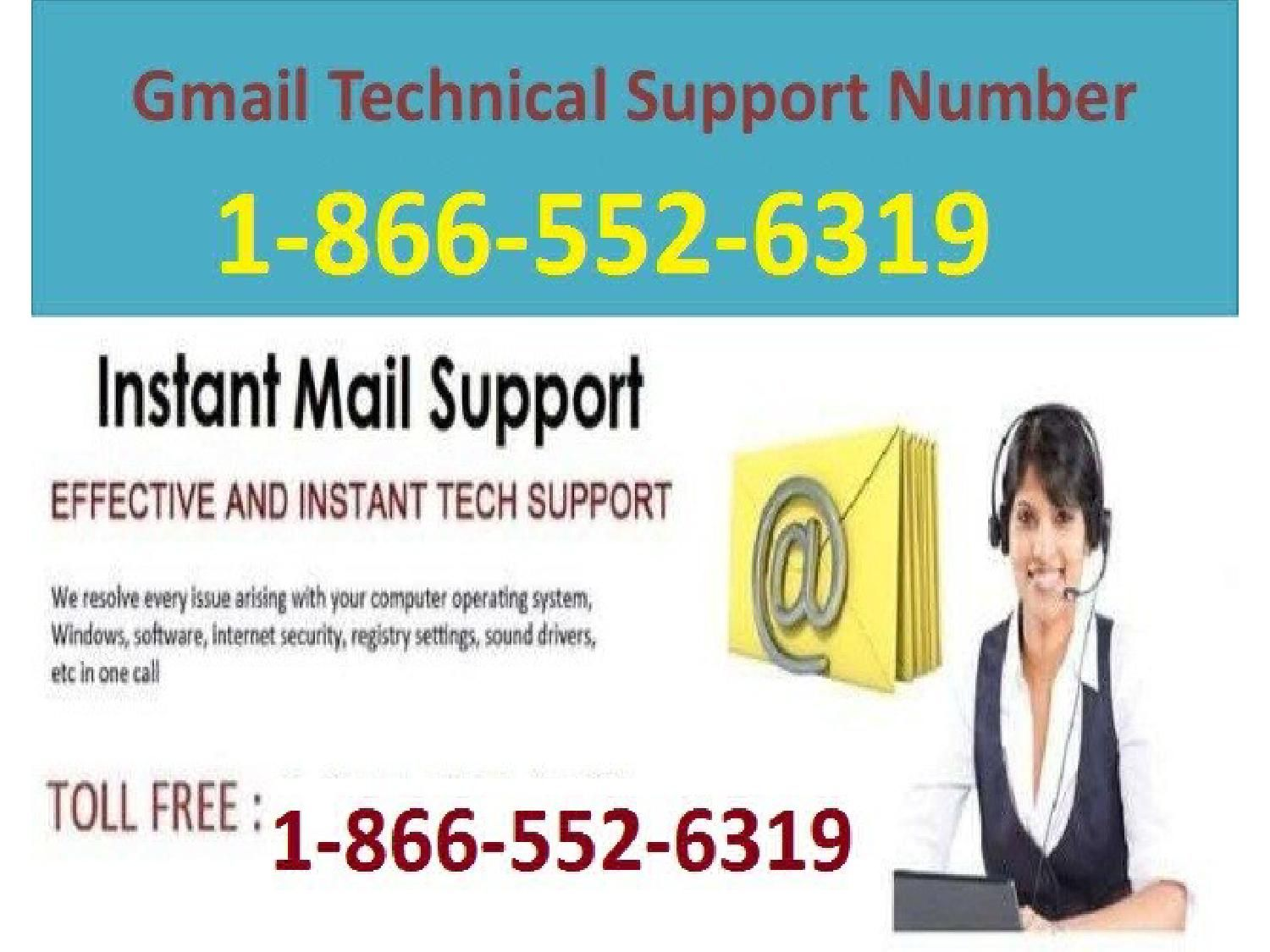 Gmail technical support number 1 866 552 6319 in usa and