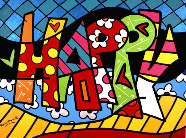 Happy By Romero Britto Pop Art Com Imagens Romero Britto
