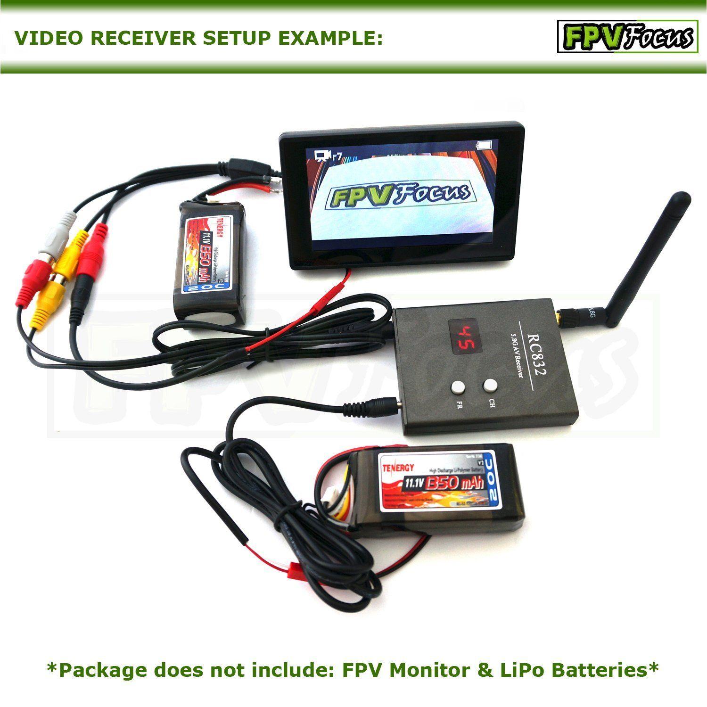 Amazon 5.8G FPV 600mW Video Audio Transmitter TX 5KM