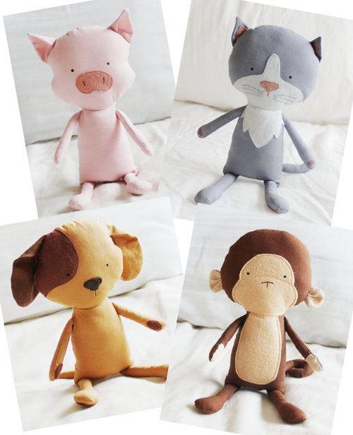 My Elf Pop Puppies | Kuscheltiere, Stofftiere und Schnittmuster ...