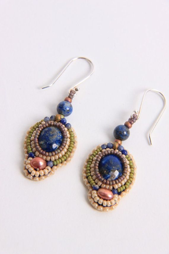 Wonderbaarlijk Bead embroidered earrings | Bead embroidery jewelry, Embroidery XK-79