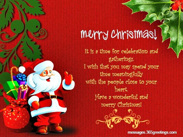 Top 100 Christmas Messages, Wishes And Greetings Christmas - christmas greetings sample