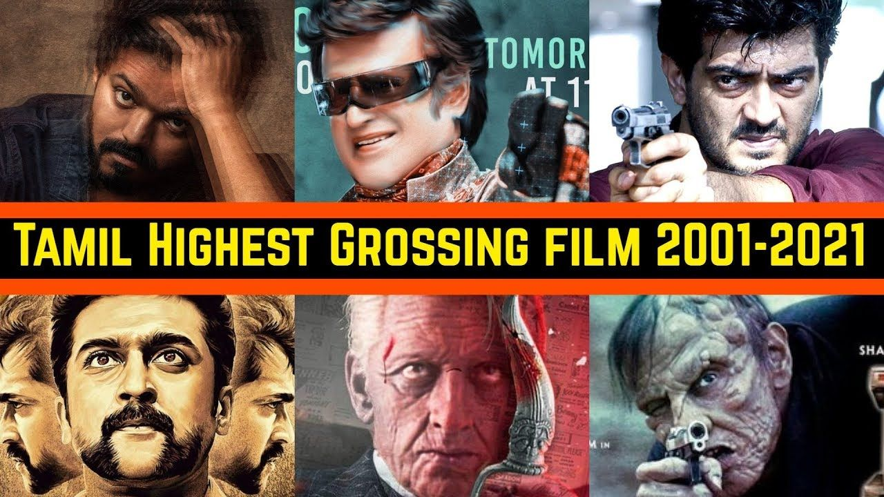 Every Year Tamil Highest Grossing Movies List From 2001 To