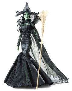 Mattel - Barbie-The Wizard of Oz Fantasy Glamour Wicked Witch of the West