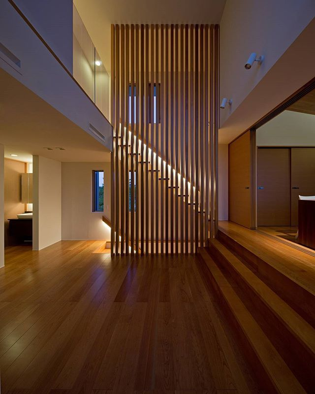 33 Staircase Designs Enriching Modern Interiors With: K5 House Designed By Architect Show, In Kurume, #japan
