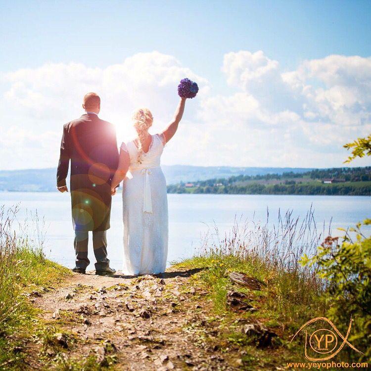 Magisk bryllup i Hamar.