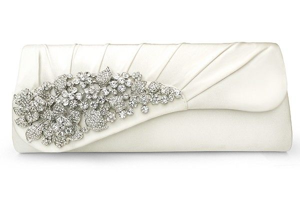 6b2dbd6fb09 Larna Ivory Wedding Bag - This vintage style bridal bag is oozing with  sophistication. It