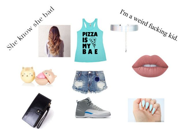 """""""yasssss"""" by rubyfaust48 ❤ liked on Polyvore featuring beauty, OneTeaspoon, Accessorize, Decree and Lime Crime"""