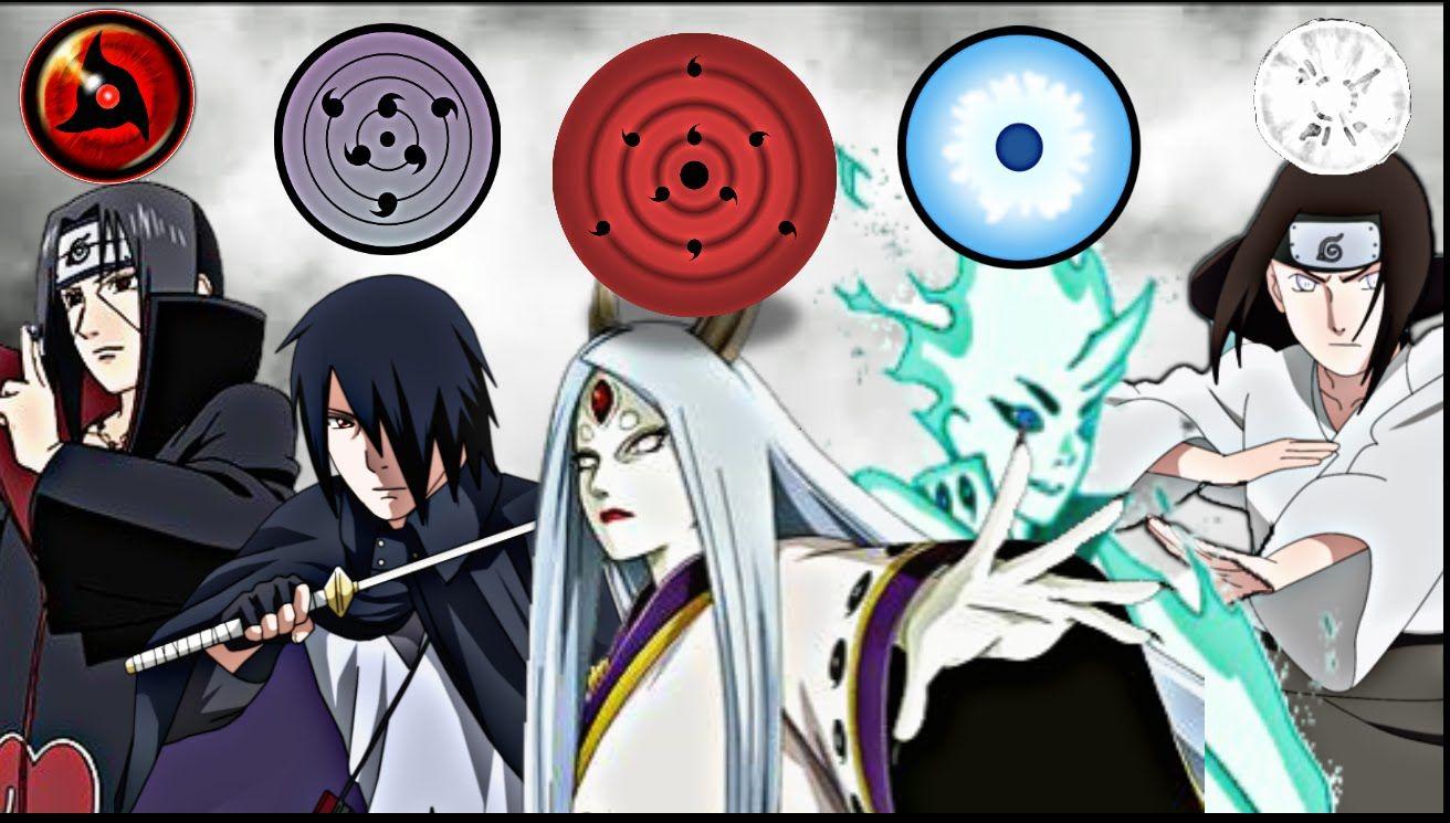 NarutoTop 50 Strongest Dojutsu Eye Users RinneganTenseiganRinne SharinganByakuganMangekyou