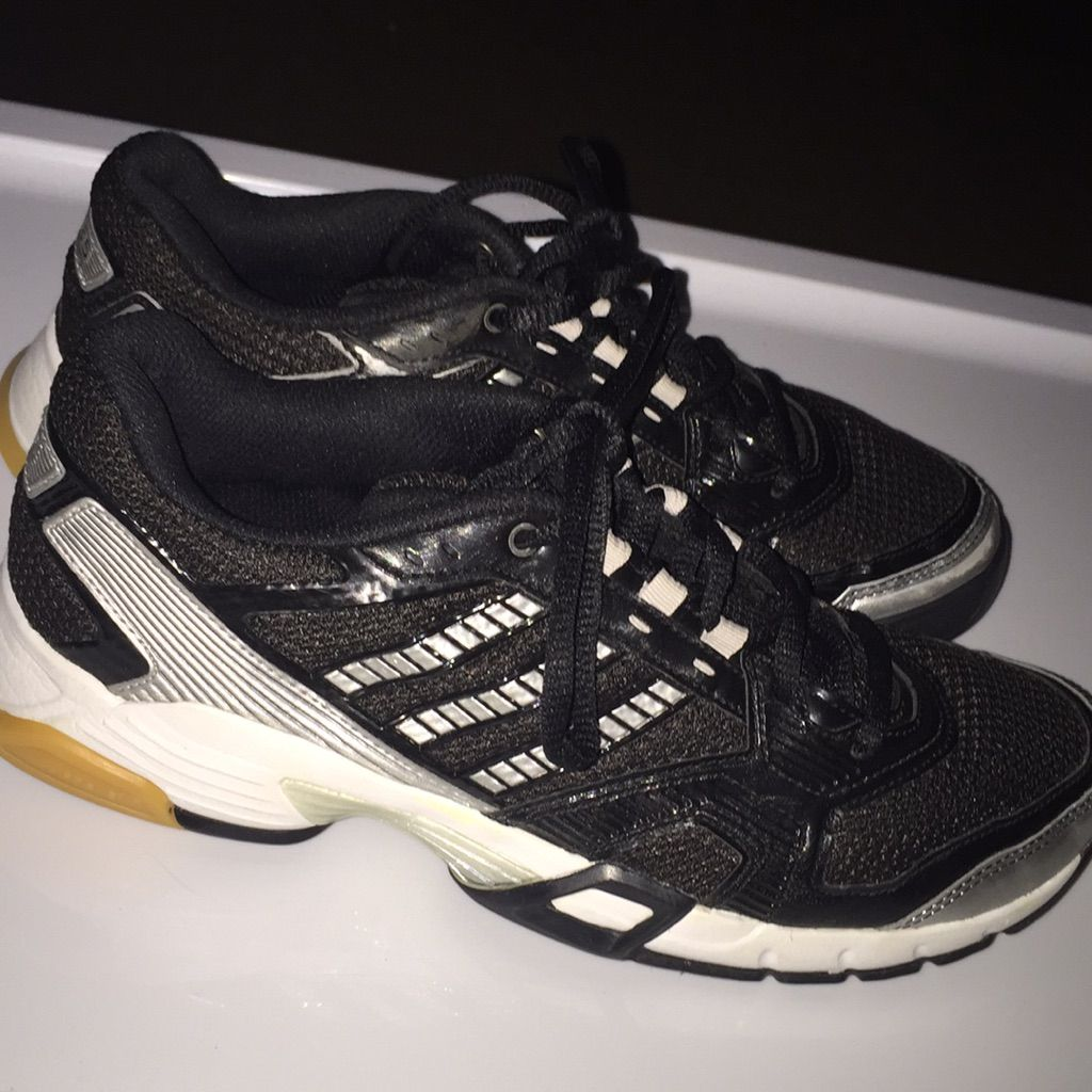 Adidas Shoes Adidas Volleyball Shoes Color Black Silver Size 7 Volleyball Shoes Adidas Volleyball Shoes Adidas Women