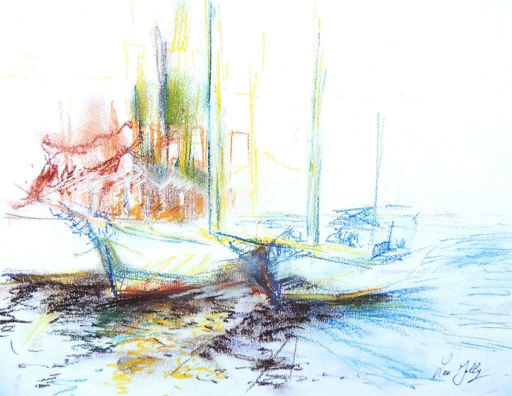 Light on the boat by LeoJolly.deviantart.com on @DeviantArt
