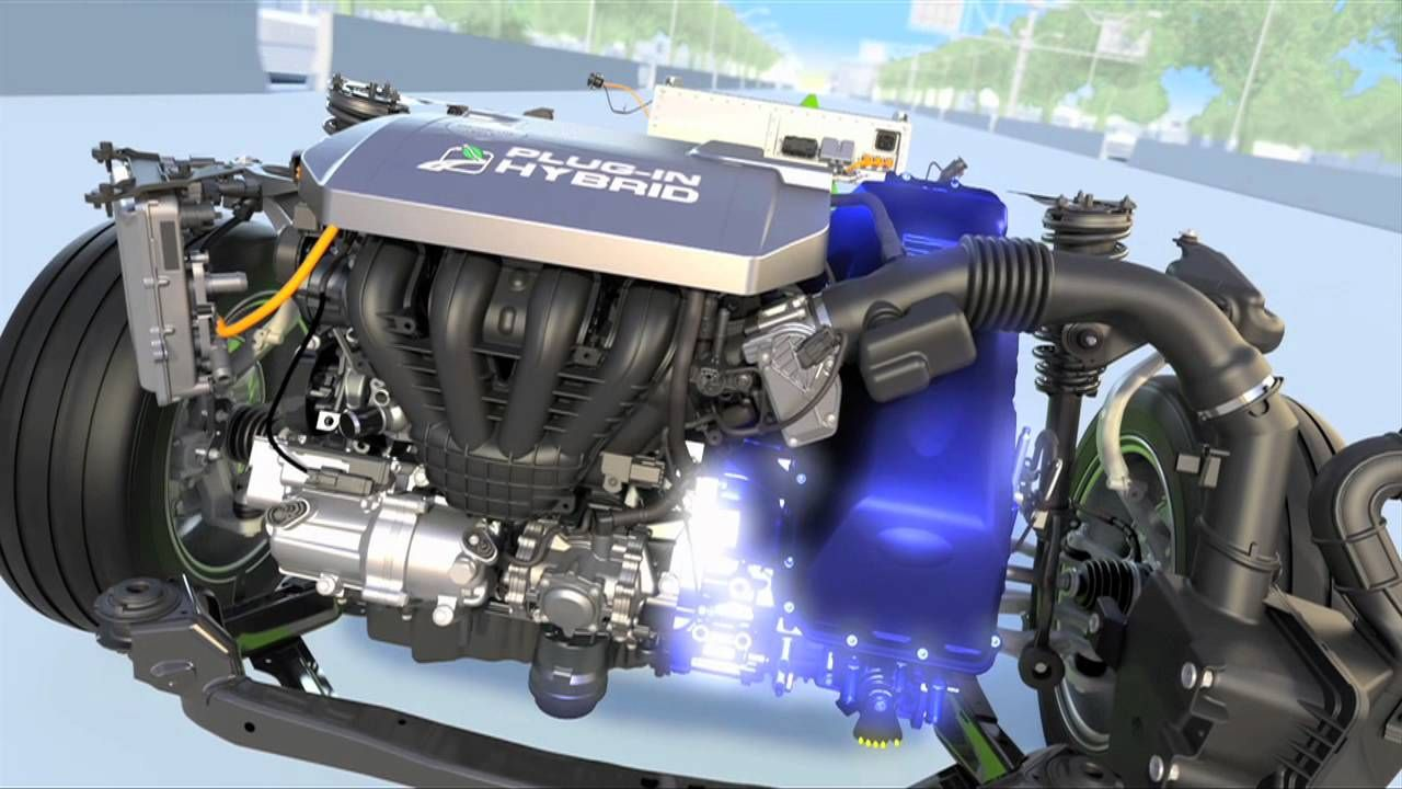 Ford Plug In Hybrid Animation Electric Vehicles Pinterest Car Diagram