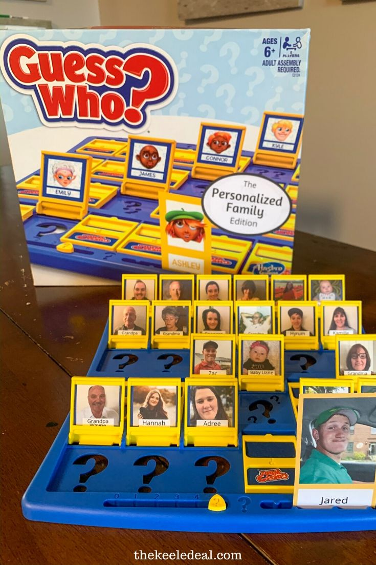 DIY Guess Who Personalized Game - The Keele Deal ...