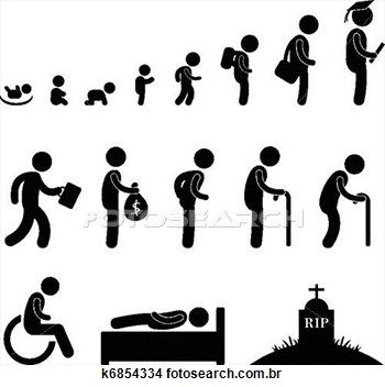 Human Life Baby Child Student Old Clipart Human Life Cycle Life