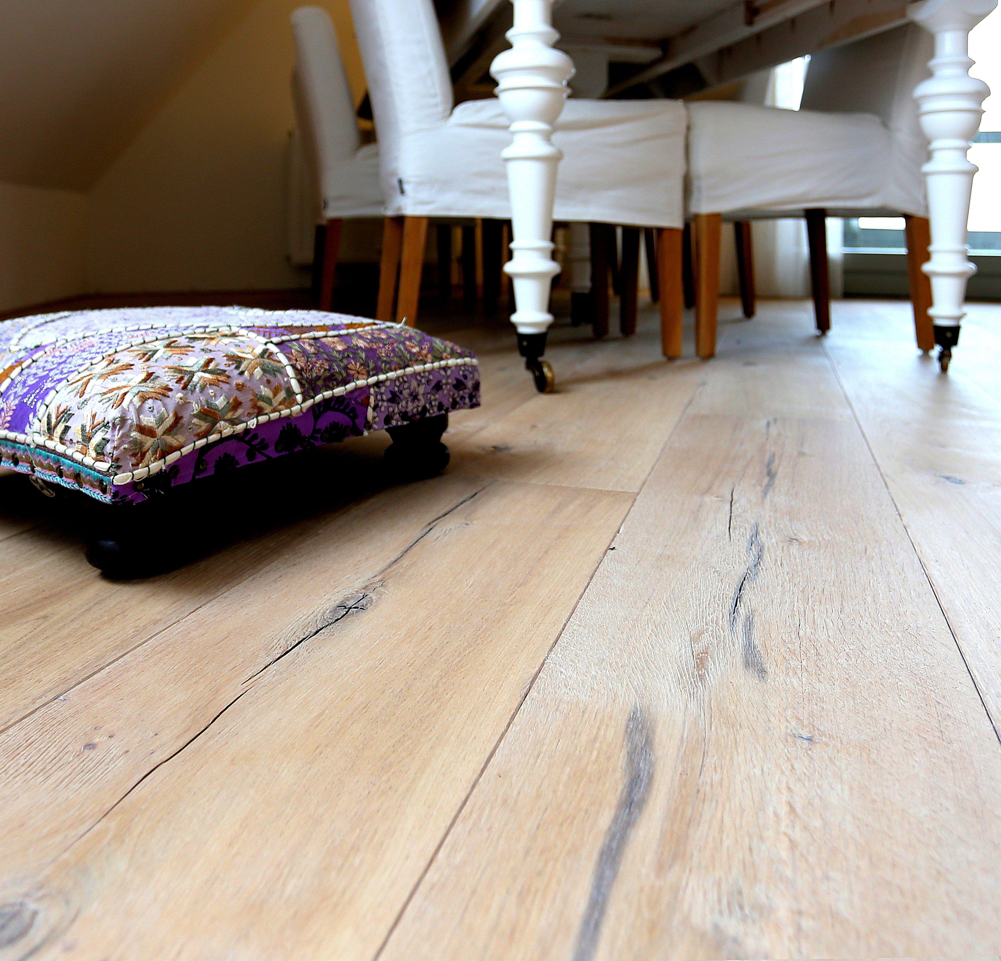 vloertrend eiken raftwood zeer robuust gemaakt uit oude