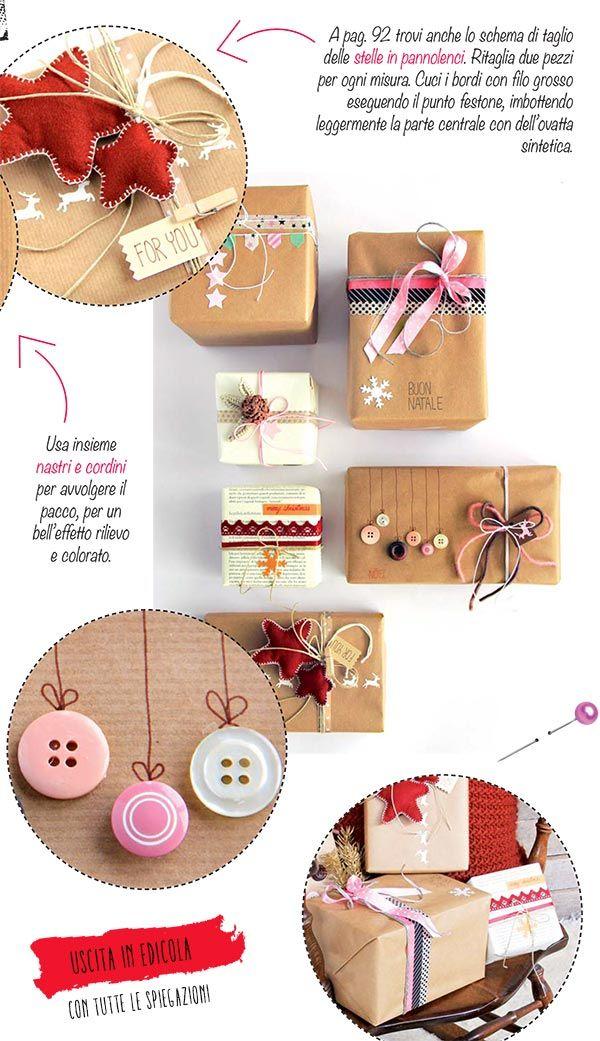 Wrapping natalizio come fare pacchi regalo originali