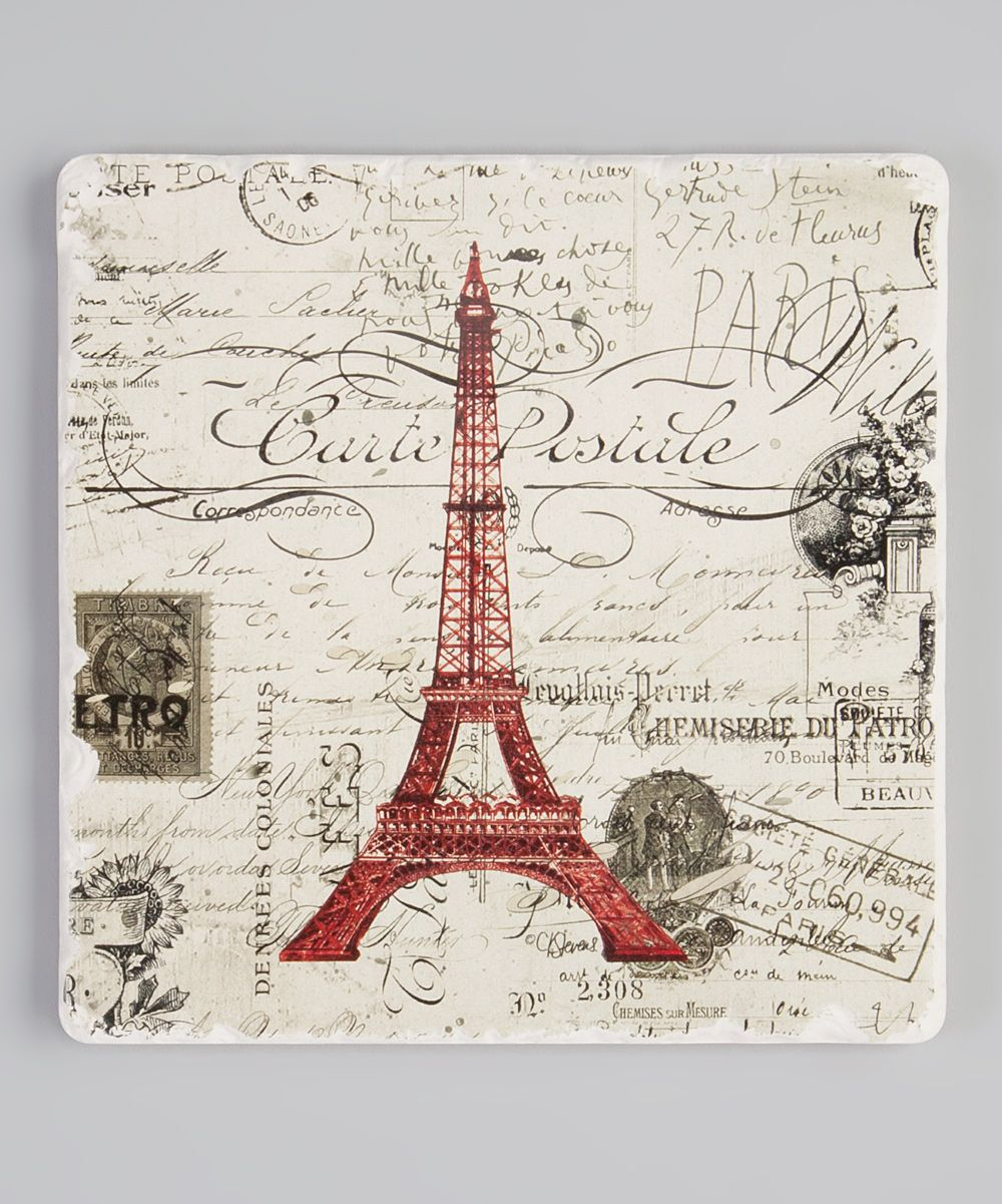 Vintage Paris Trivet | something special every day