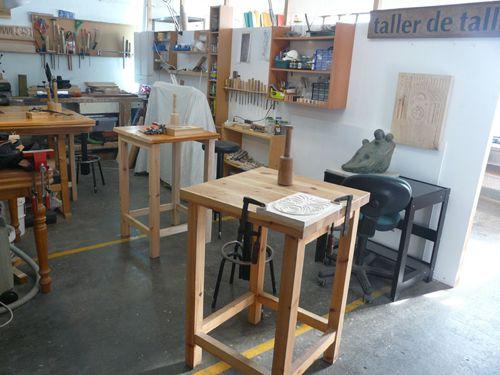 artallabcn.Curso iniciacion de talla en madera
