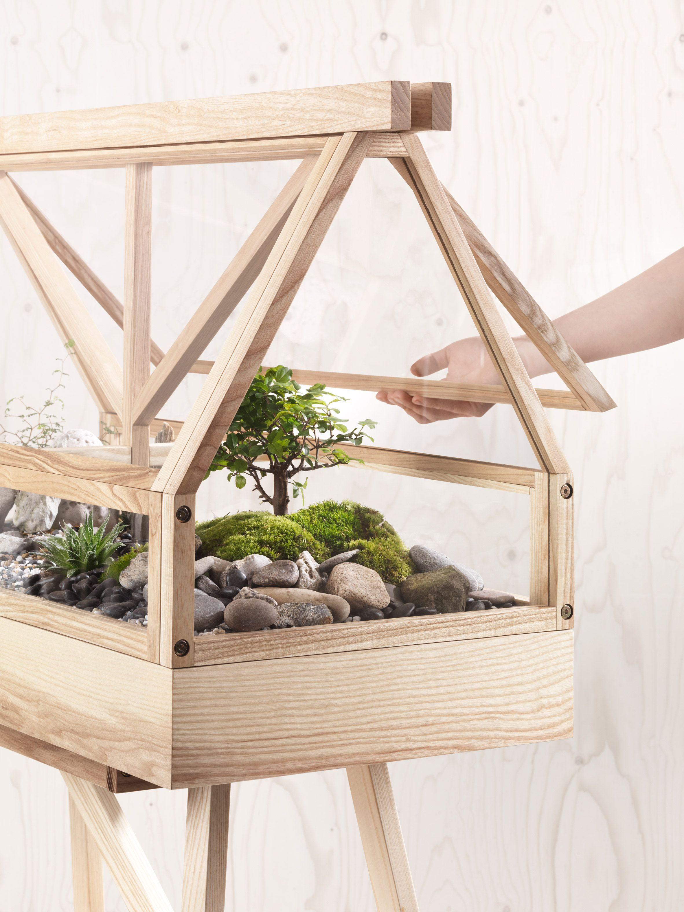 Atelier 2 Designs Miniature Greenhouse For Indoor Gardeners