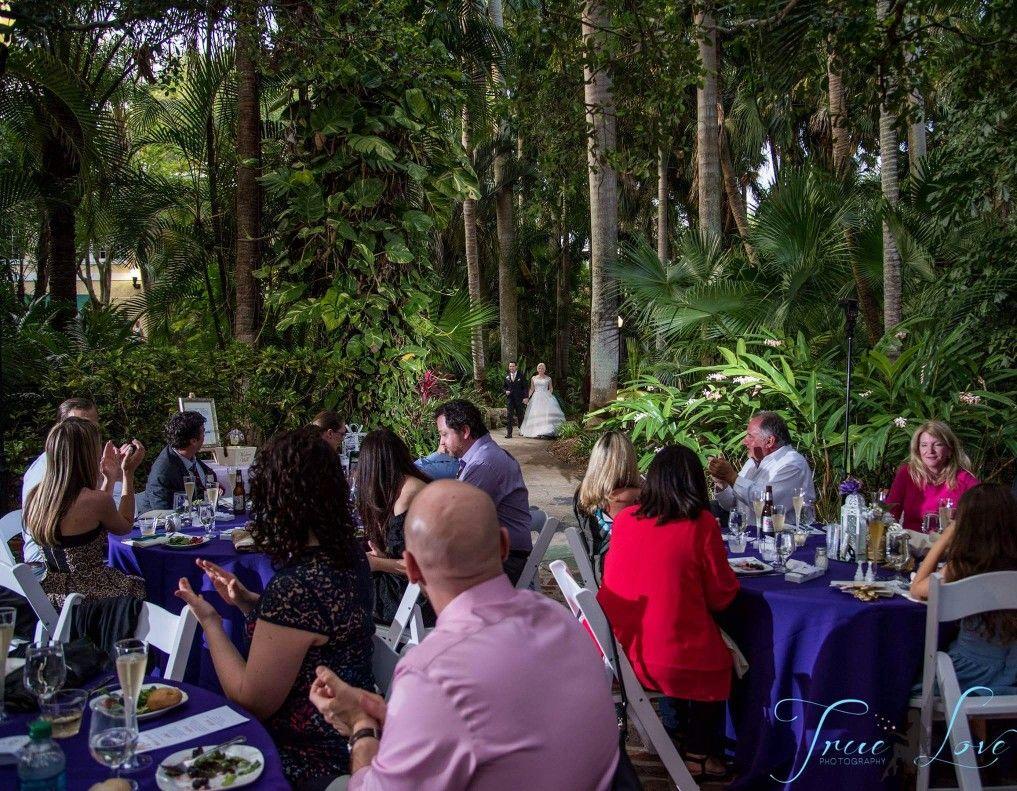 Wedding in Sunken Gardens, St. Petersburg, FL. True Love