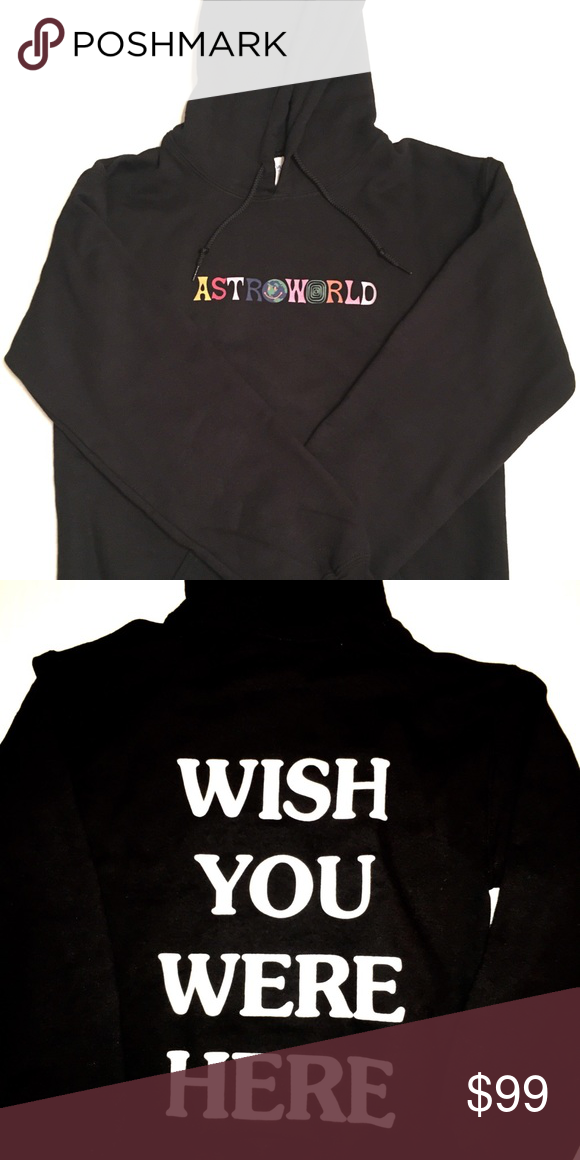 92b9fa769b65 Travis Scott Astroworld Hoodie Sweatshirt Size S Travis Scott Astroworld  Hoodie Size S, Black, Mint Condition Brand New SCOTT Shirts Sweatshirts &  Hoodies