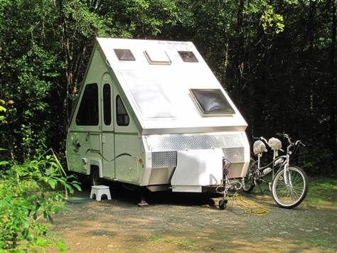2005 Aliner Lxe Folding Hard Sided Camper Trailer No