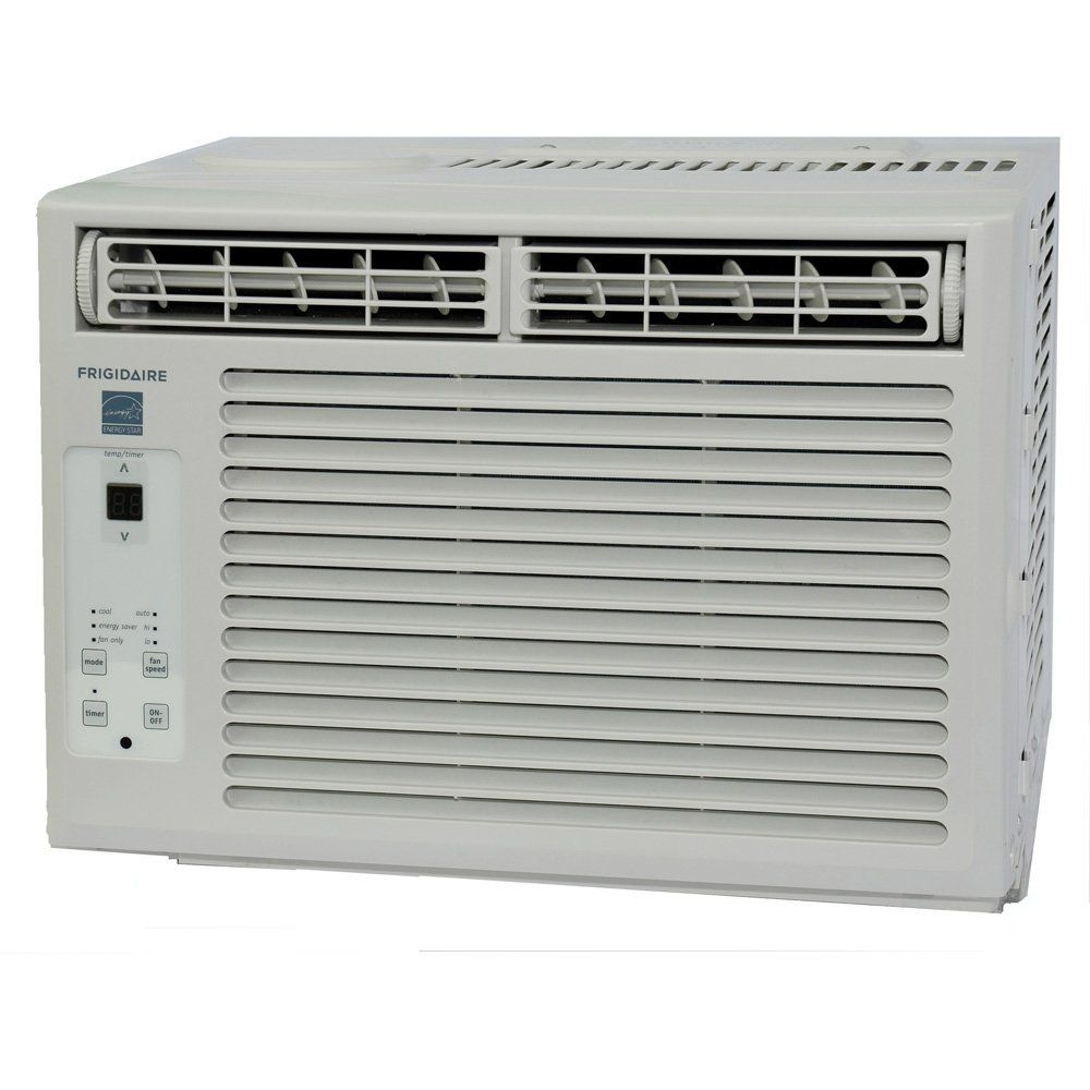 Frigidaire Fra054xt7 5 000 Btu Window Mounted Mini Room Air Conditioner Window Air Conditioner Room Air Conditioner Portable Air Conditioner