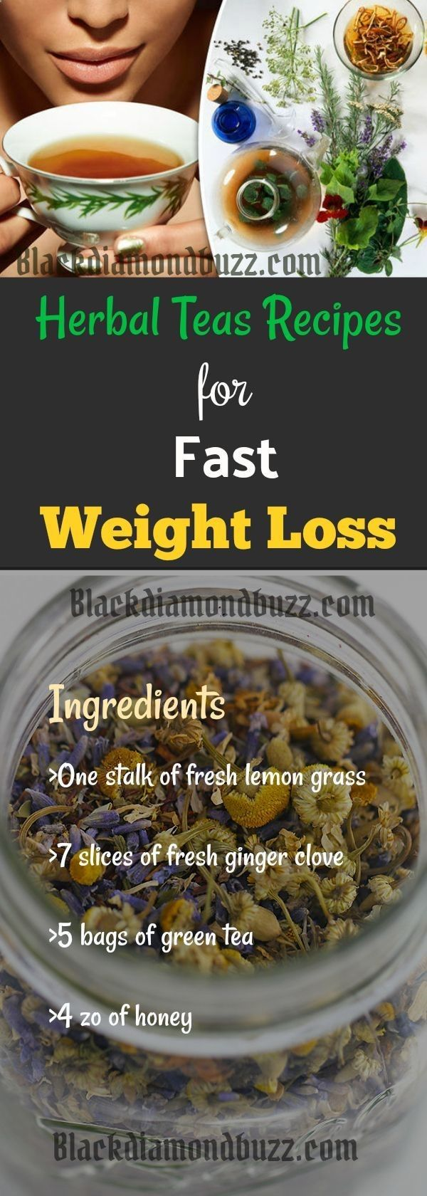 How To Make Herbal Tea Recipes For Fast Weight Loss. This