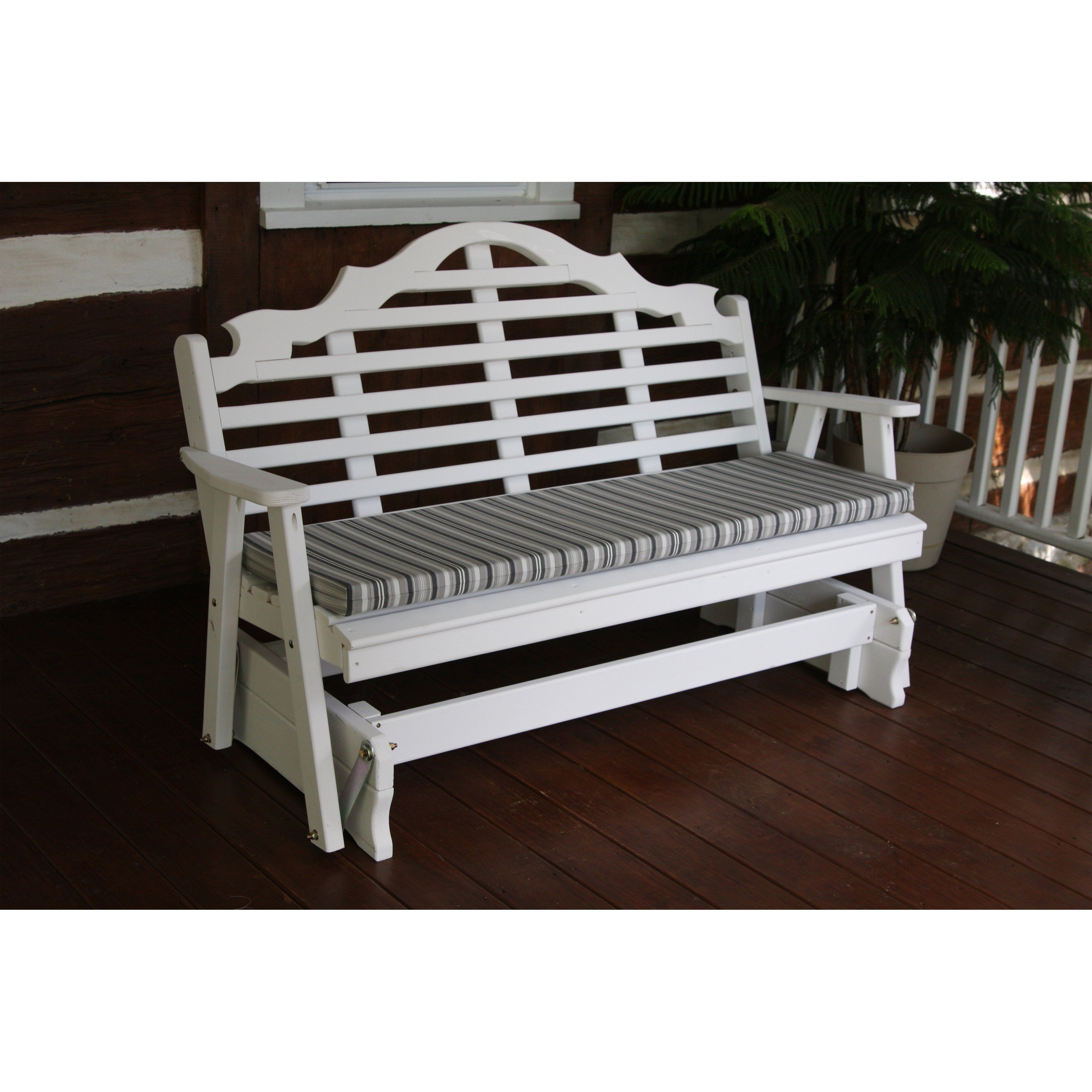 c glider benches gliders furniture sunnyland swings start outdoor bench porch