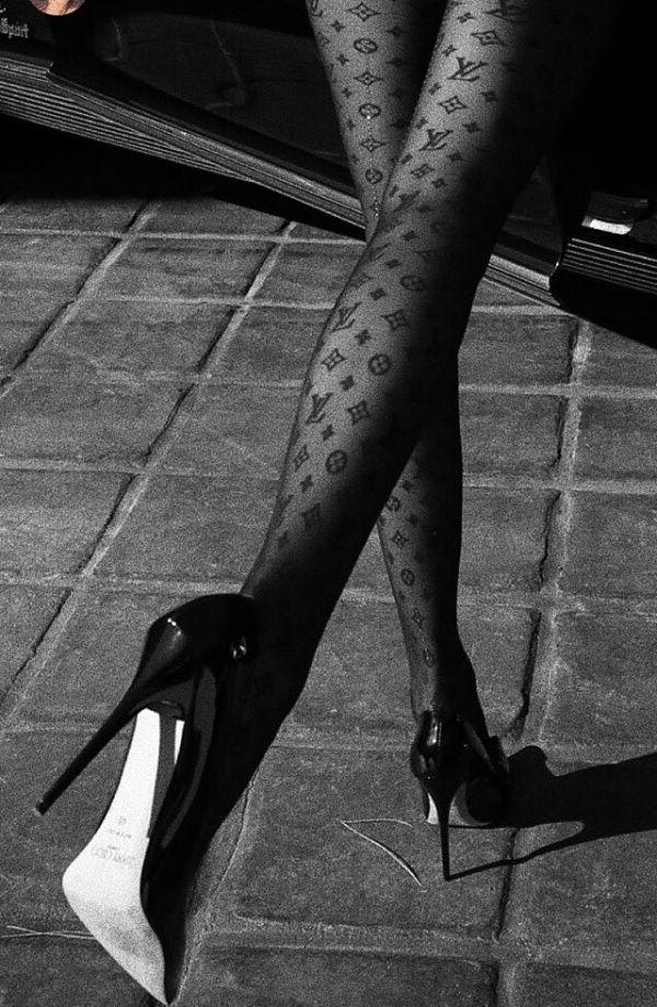 Vsco Mariaeduardda Louis Vuitton Shoes Heels Black And White Aesthetic Louis Vuitton Shoes