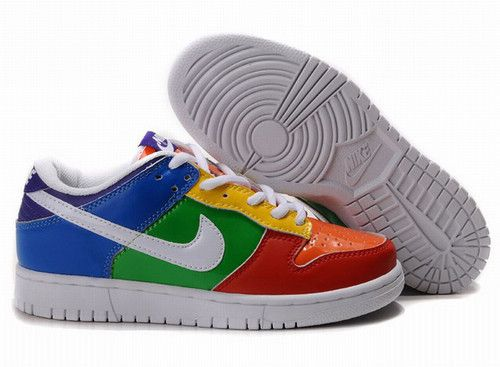 Cheap Men's Nike Dunk Low Shoes Orange/Red/Green/Blue/White/