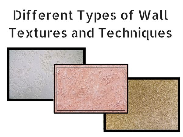 different types of wall textures and techniques textured on wall types id=50435