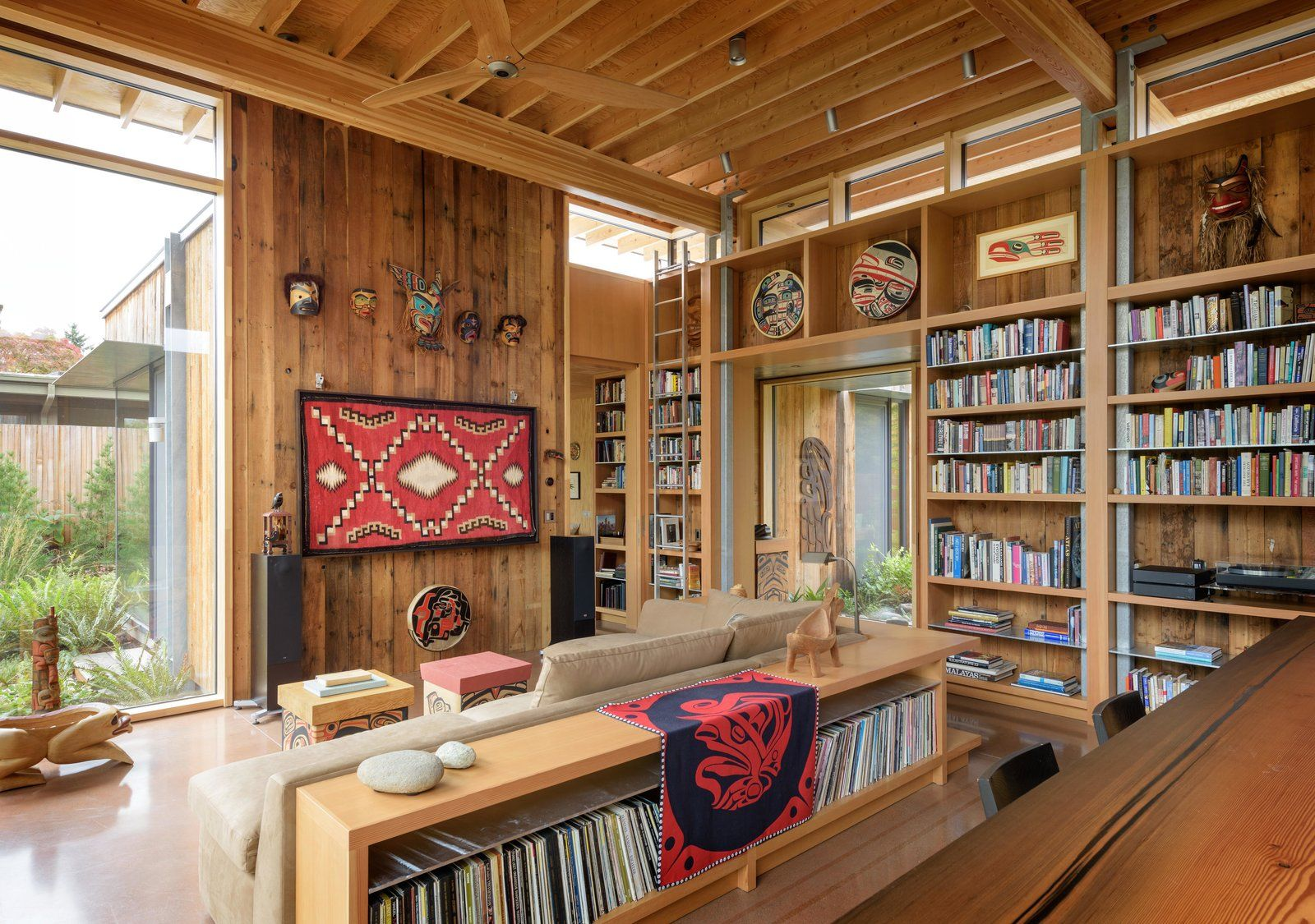 City Cabin By Olson Kundig Cabin Mid Century House Modern Style Homes