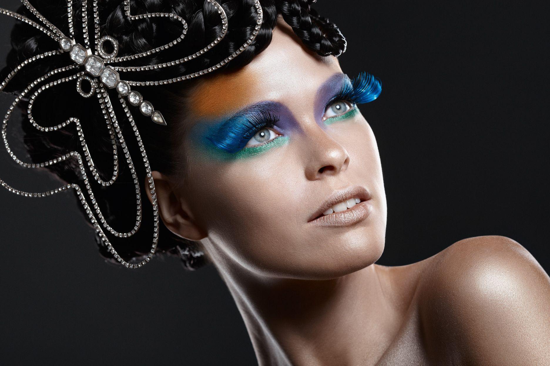 Maquiagem para brilhar no carnaval por Marcos Costa